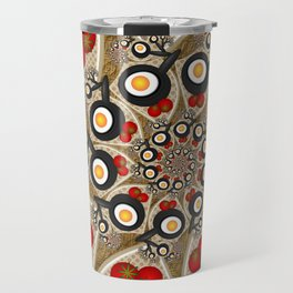 Brunch, Fractal Art Fantasy Travel Mug