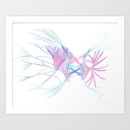 Electric Society Art Print
