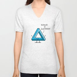 The Possible Triangle Unisex V-Neck