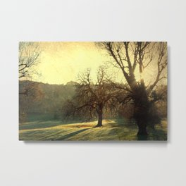 I love to see the shaking twig... Metal Print