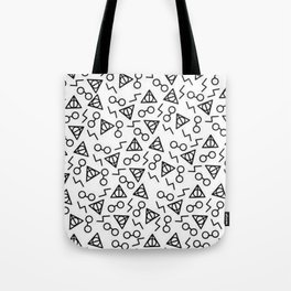 Potter Pattern Tote Bag