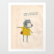 Things my friends say Art Print