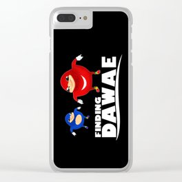 finding dawae Clear iPhone Case