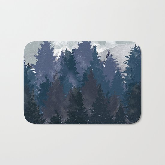 Winter i will never forget you Bath Mat