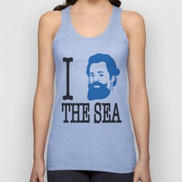 I __ The Sea Unisex Tank Top