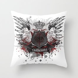 Cullenite Crest  Throw Pillow