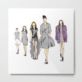 Catwalk Metal Print