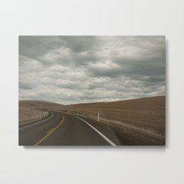 The Road to the Ranch Metal Print