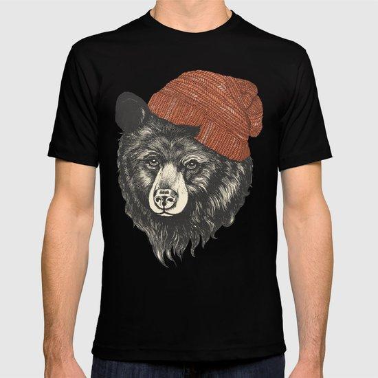zissou the bear T-shirt