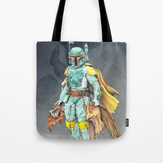 Star Wars Boba Fett and friends Tote Bag