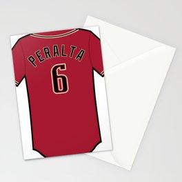 David Peralta Jersey Stationery Cards
