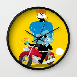 baba yankee Wall Clock