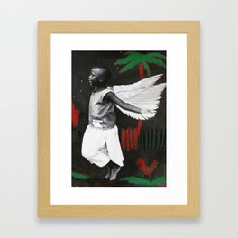Florence in Flight Framed Art Print