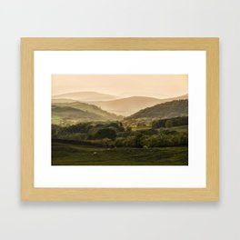 Sunny afternoon in Lake District Framed Art Print