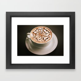 Hot Chocolate Done Right Framed Art Print