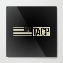 TACP (Black Flag) Metal Print