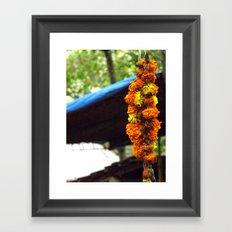 Indian Flowers Framed Art Print