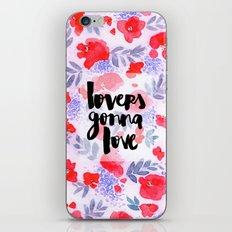 Lovers [Collaboration with Jacqueline Maldonado] iPhone & iPod Skin
