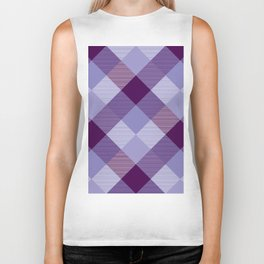 Geometrical Square Abstraction 4 Biker Tank