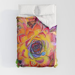Succulent Madness Comforters
