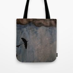Watercolour: Broken Umbrella Tote Bag