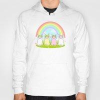 alpaca Hoodies featuring Alpaca Paradise by rinicake