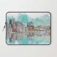 Pittsburgh Sunset Laptop Sleeve