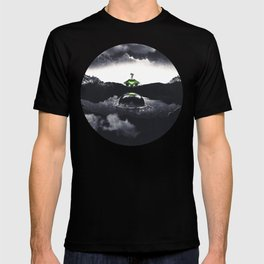 The Landing A Zebes Surrealism T-shirt