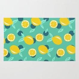 Lemon dots #society6 #decor #buyart Rug