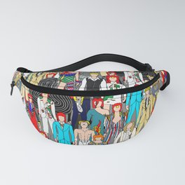 Heroes Doodle Square Fanny Pack