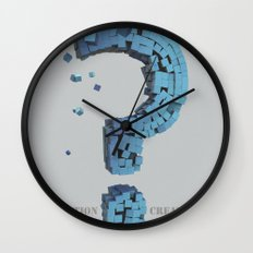 Question Creator Wall Clock