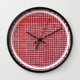 Left - lined circle Wall Clock