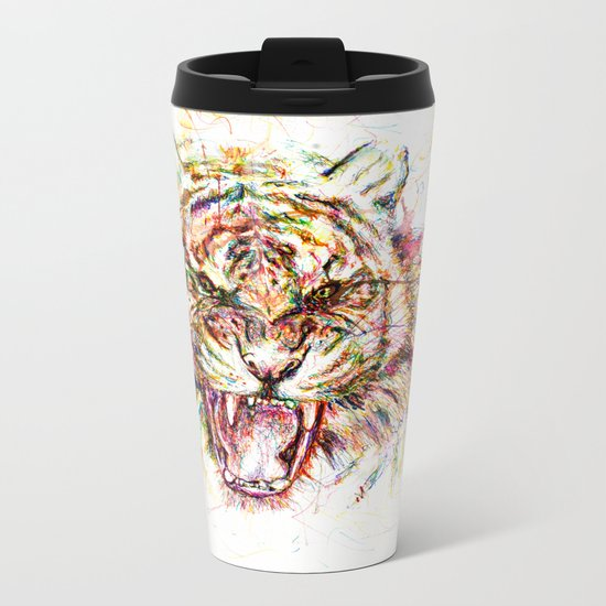 Tatewari Ute'a Tiger Metal Travel Mug