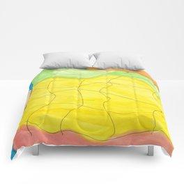 Effortless Watercolor Comforters
