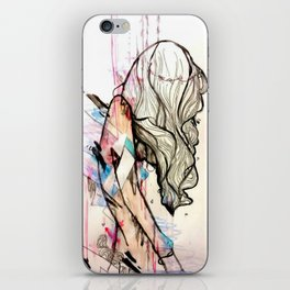 Collapsing Structures iPhone Skin