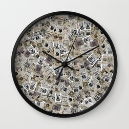 The Daily Prophet Wall Clock