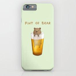 Pint of Bear iPhone Case