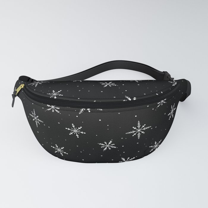 Nordic Snow - White Line Fanny Pack