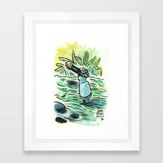 The mambo - Saut d'Eau, Haiti Framed Art Print