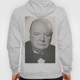 Winston Churchill Spiral Portrait Hoody