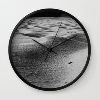 sand Wall Clocks featuring Sand by Fine2art