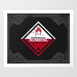 Kemical Art Print