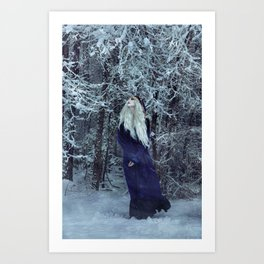 Soft, Silent, and Still Art Print