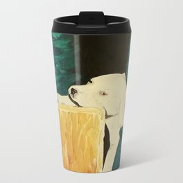 sleepy puppy Metal Travel Mug