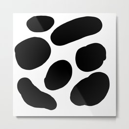 Painted Cow Spots Metal Print