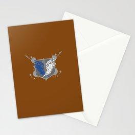 Survey Corps Paint Splat Stationery Cards