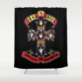 Appetite for Destruction - Legobricks Shower Curtain