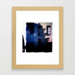 Wind and shadows Framed Art Print
