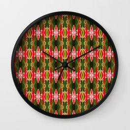 MelonStrips Wall Clock