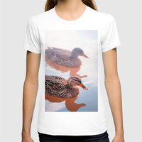 duck T-shirts featuring Duck by DistinctyDesign